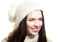 Kobiety być ubranym woolen zdjęcie royalty free