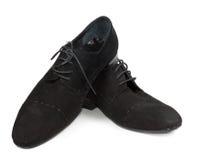 Kobiety czerni przypadkowa depresja heeled buty Fotografia Royalty Free
