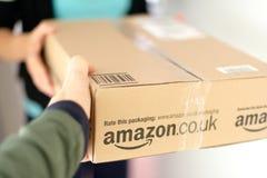 Kobiety dostawania pakuneczek Obraz Stock