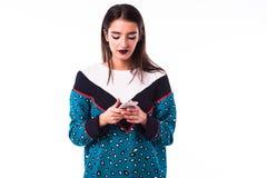 Kobiety dziewczyna w przypadkowym modnisia lecie odziewa Obraz Royalty Free