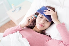 Kobiety febra i Zdjęcia Stock