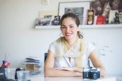 Kobiety fotografii profesjonalista Obrazy Stock