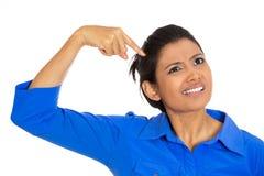 Kobiety główkowanie Obrazy Stock