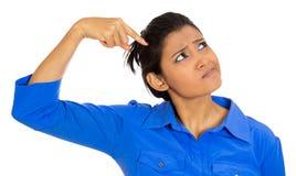 Kobiety główkowanie Obraz Stock