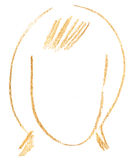 kobiety głowa ilustracji