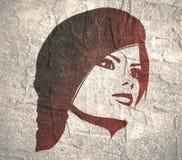 kobiety głowy sylwetka Obraz Royalty Free