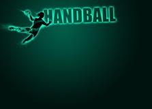 Kobiety handball tło Zdjęcia Royalty Free