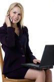 kobiety jednostek gospodarczych działania atrakcyjna obraz stock