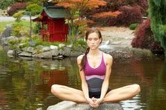 kobiety joga obrazy royalty free