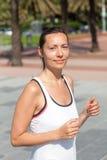 Kobiety jogging zdjęcie stock