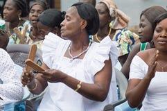 Kobiety klascze ich tradycyjnych instrumenty muzycznych Obrazy Stock