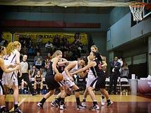 Kobiety koszykówka zdjęcia royalty free
