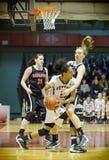 Kobiety koszykówka zdjęcie stock