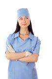 Kobiety lekarka. Obraz Royalty Free