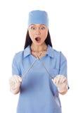 Kobiety lekarka. Zdjęcie Royalty Free