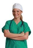 Kobiety młoda Lekarka Obraz Royalty Free