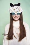 Kobiety maski mody piękno Obraz Stock