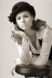 kobiety maski young Fotografia Royalty Free