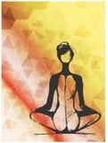 Kobiety medytacja Zdjęcia Royalty Free