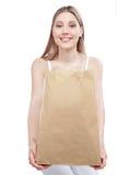 Kobiety mienie Robi zakupy Papierową torbę Obraz Royalty Free