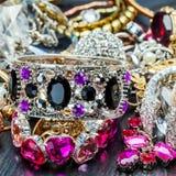 Kobiety modna biżuteria Obrazy Royalty Free