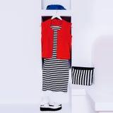 Kobiety mody akcesoria i odziewają zdjęcie royalty free