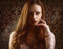 Kobiety mody portret fotografia royalty free