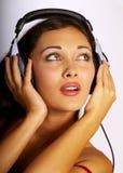 kobiety muzyki Obrazy Royalty Free