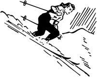 Kobiety narciarka Fotografia Royalty Free
