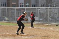 Kobiety NCAA softball Zdjęcie Stock