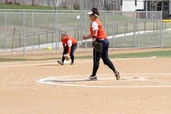 Kobiety NCAA softball Fotografia Stock