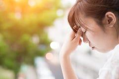 Kobiety odczucia depresja fotografia royalty free