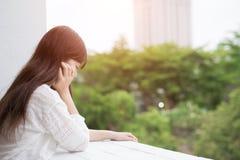 Kobiety odczucia depresja obrazy royalty free