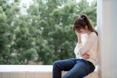 Kobiety odczucia depresja zdjęcia royalty free