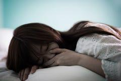 Kobiety odczucia depresja zdjęcie royalty free