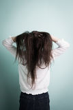 Kobiety odczucia depresja obraz royalty free