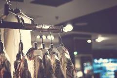 Kobiety odziewają w centrum handlowym Moda sklep Moda odziewa Kobiet odziewa? obraz royalty free