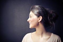 Kobiety ono uśmiecha się Zdjęcia Royalty Free