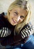 Kobiety ono uśmiecha się zdjęcie royalty free
