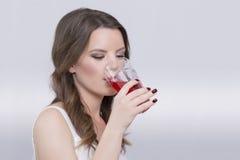 Kobiety pić Zdjęcia Royalty Free