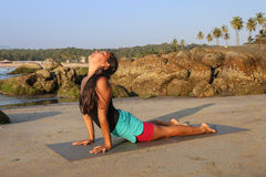 kobiety piękny robi joga Zdjęcie Stock