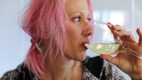 kobiety pić wina zdjęcie wideo
