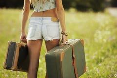 Kobiety podróż Obraz Stock