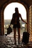 Kobiety podróżować Fotografia Stock