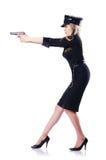 Kobiety policja odizolowywająca obraz royalty free