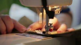 Kobiety praca na szwalnej maszynie zdjęcie wideo