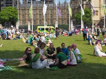 Kobiety prawo wyborcze przy 100 w Londyn Zdjęcie Stock