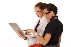 kobiety przedsiębiorstw Zdjęcie Royalty Free