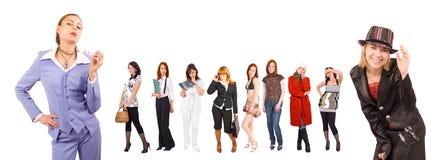 kobiety przedsiębiorstw Obrazy Royalty Free