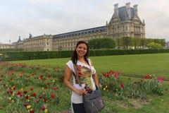 Kobiety przespacerowanie w Paryż fotografia stock